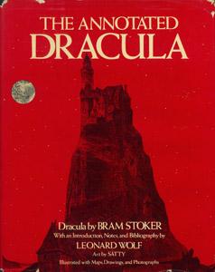 Cubierta de la obra : The annotated Dracula