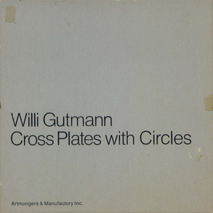 Front Cover : Cross plates with circles