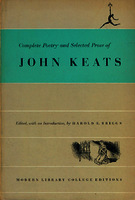 Ver ficha de la obra: complete poetry and selected prose of John Keats