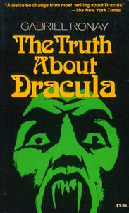 Cubierta de la obra : The truth about Dracula