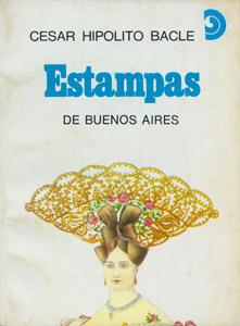 Cubierta de la obra : Estampas de Buenos Aires