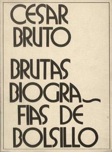 Front Cover : Brutas biografías de bolsillo