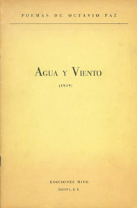 Front Cover : Agua y viento (1959)