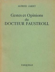 Front Cover : Gestes et opinions du docteur Faustroll