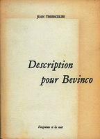 Ver ficha de la obra: Description pour Bevinco