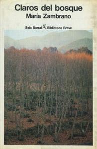 Cubierta de la obra : Claros del bosque