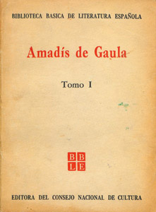 Cubierta de la obra : Amadís de Gaula
