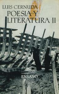 Cubierta de la obra : Poesía y literatura II