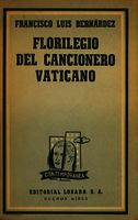 Ver ficha de la obra: Florilegio del Cancionero Vaticano