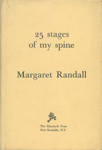 Cubierta de la obra : 25 stages of my spine