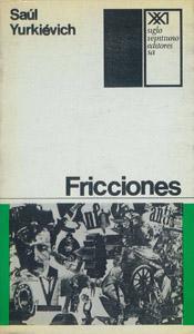 Front Cover : Fricciones