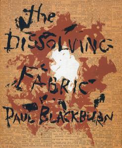 Cubierta de la obra : The dissolving fabric