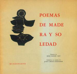 Front Cover : Poemas de madera y soledad