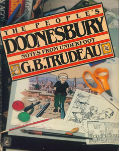Cubierta de la obra : The people's Doonesbury