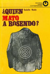 Front Cover : ¿Quién mató a Rosendo?