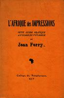 Ver ficha de la obra: Afrique des impressions