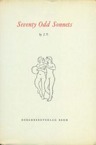 Cubierta de la obra : Seventy odd sonnets