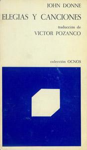 Front Cover : Elegías y canciones