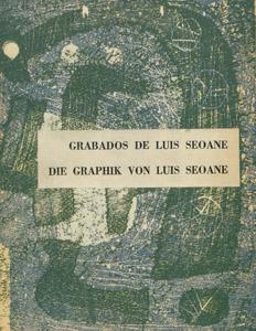 Cubierta de la obra : Grabados de Luis Seoane =