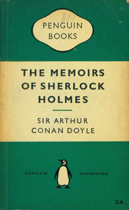 Front Cover : The memoirs of Sherlock Holmes