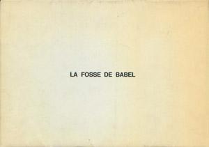 Cubierta de la obra : La fosse de Babel