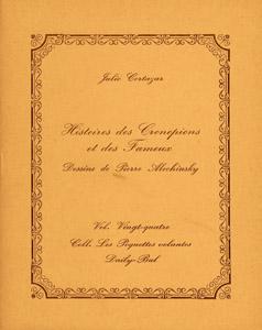 Cubierta de la obra : Histoires des Cronopiens et des Fameux
