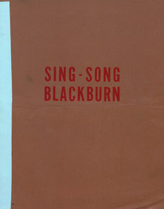 Front Cover : Sing-song