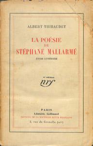 Cubierta de la obra : La poésie de Stéphane Mallarmé
