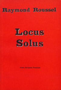 Cubierta de la obra : Locus solus