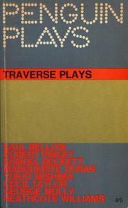 Cubierta de la obra : Traverse plays
