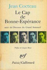 Front Cover : Le Cap de Bonne-Esperance ; suivi de Le discours du grand sommeil