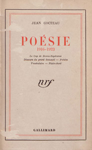 Front Cover : Poésie, 1916-1923
