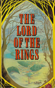 Cubierta de la obra : The Lord of the rings