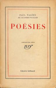Front Cover : Poésies