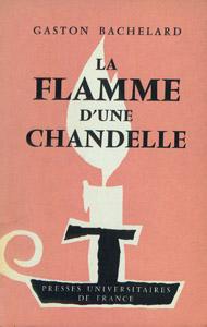 Cubierta de la obra : La flamme d'une chandelle