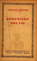 Ver ficha de la obra: Romancero del Cid