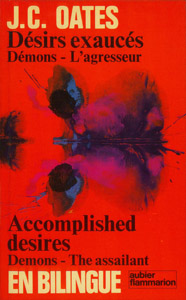 Cubierta de la obra : Demons ; The assailant ; Accomplished desires
