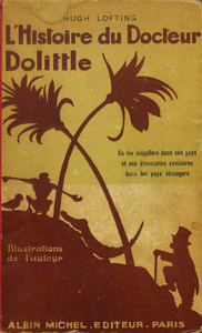 Cubierta de la obra : L' histoire du Docteur Dolittle
