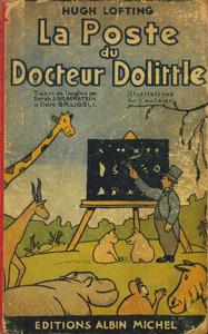 Cubierta de la obra : La poste du Doctor Dolittle