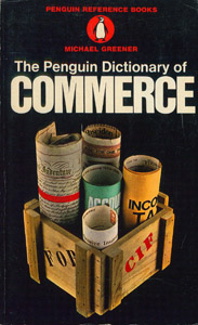 Cubierta de la obra : The Penguin dictionary of commerce