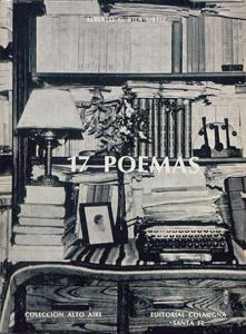 Cubierta de la obra : 17 poemas