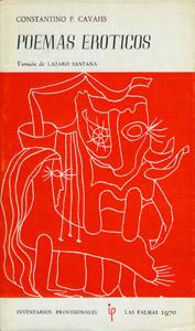 Cubierta de la obra : Poemas eróticos
