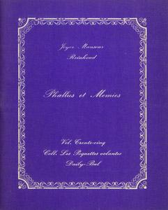 Cubierta de la obra : Phallus et momies