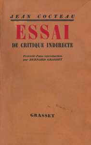 Front Cover : Essai de critique indirecte