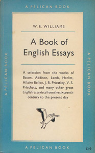 Cubierta de la obra : A book of English essays