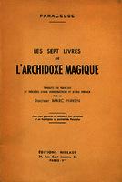 Ver ficha de la obra: sept livres de l'Archidoxe magique
