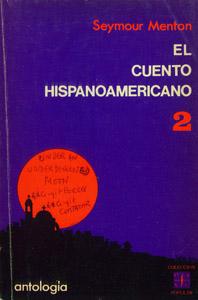 Cubierta de la obra : El cuento hispanoamericano