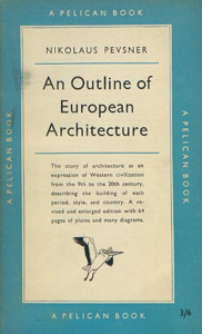 Front Cover : An outline of European architecture