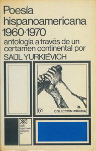 Cubierta de la obra : Poesía hispanoamericana, 1960-1970
