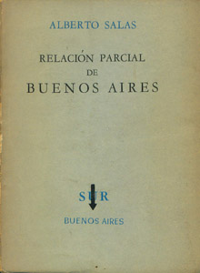 Cubierta de la obra : Relación parcial de Buenos Aires